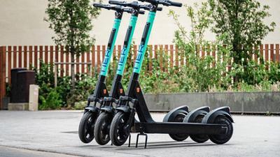 200 dieser Scooter stehen nun in Karlsruhe zur Verfügung.