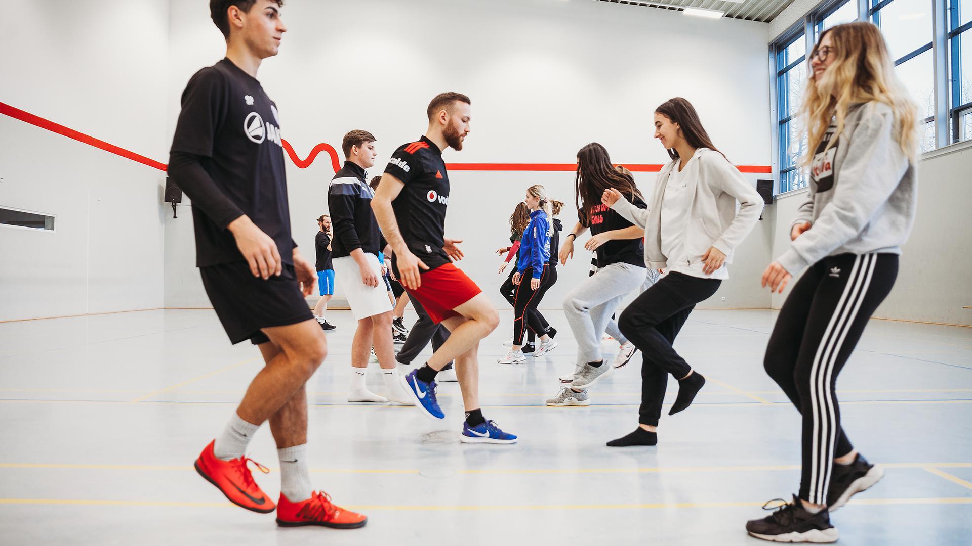 Viele der Schüler haben ihr Leben dem Sport verschrieben und möchten mithilfe der SGKA ihr Hobby zum Beruf machen.