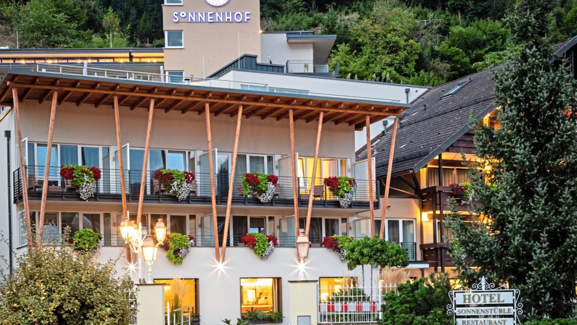 """Erholung pur bietet das Hotel Sonnenhof in Lautenbach mit """"Espacially for Two-Night"""" im idyllischen Renchtal."""