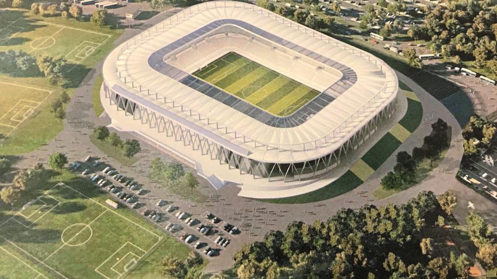 So soll das neue Stadion aussehen.
