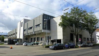 Postareal an der Rüppurrer Straße