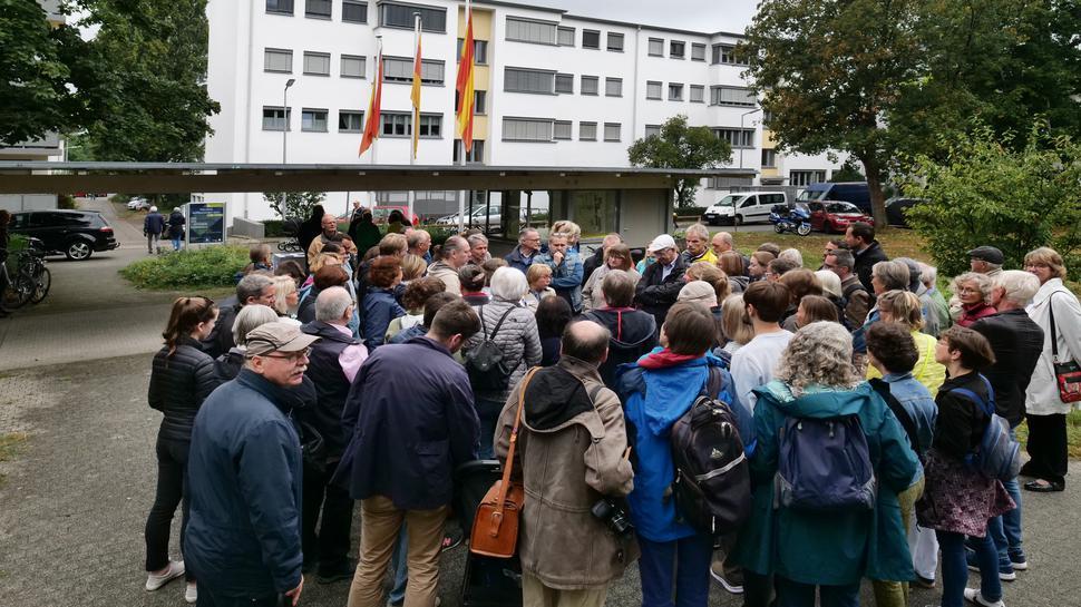 Denkmaltag in der Dammerstocksiedlung