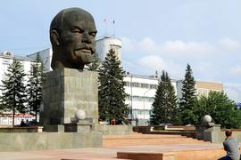 Leninkopf in Ulan-Ude, der Hauptstadt der russischen Republik Burjatien