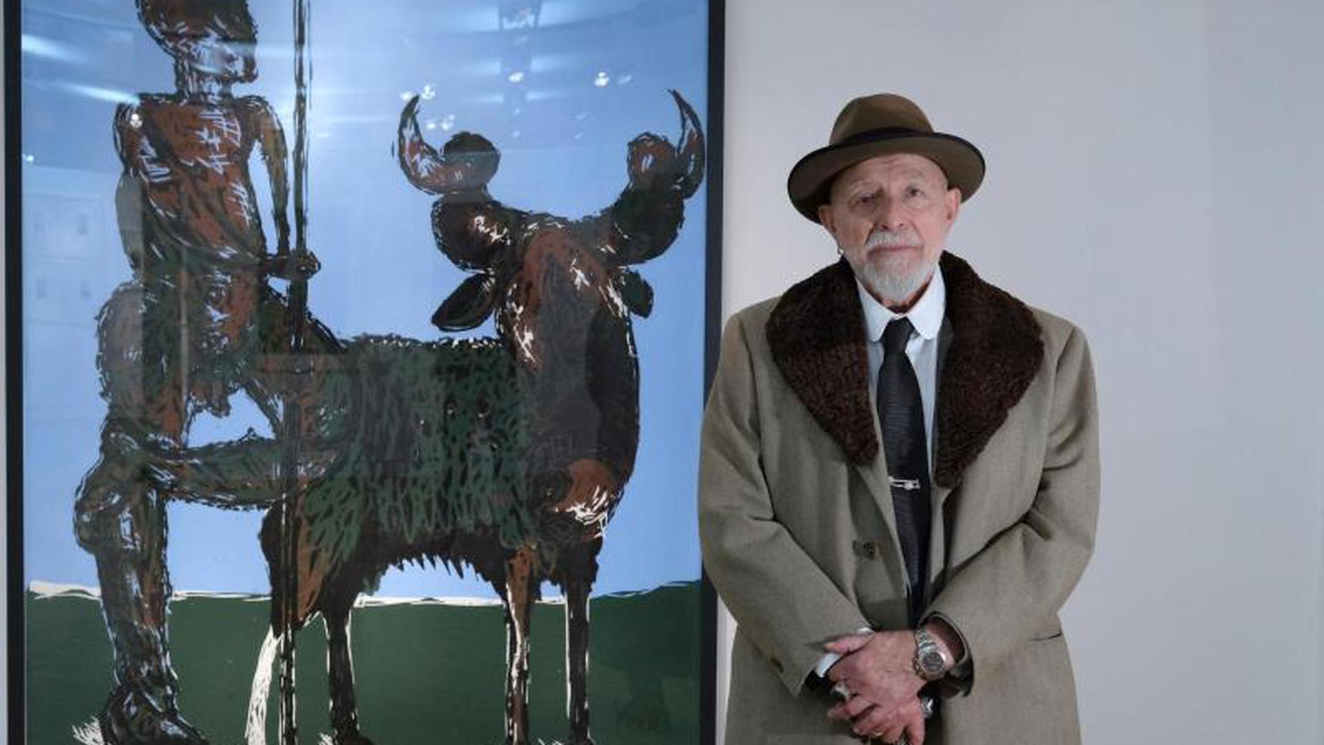 "Ausstellung ""Markus Lüpertz. Druckgrafiken"""