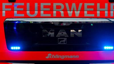 Einsatzwagen der Feuerwehr. (Symboldbild)