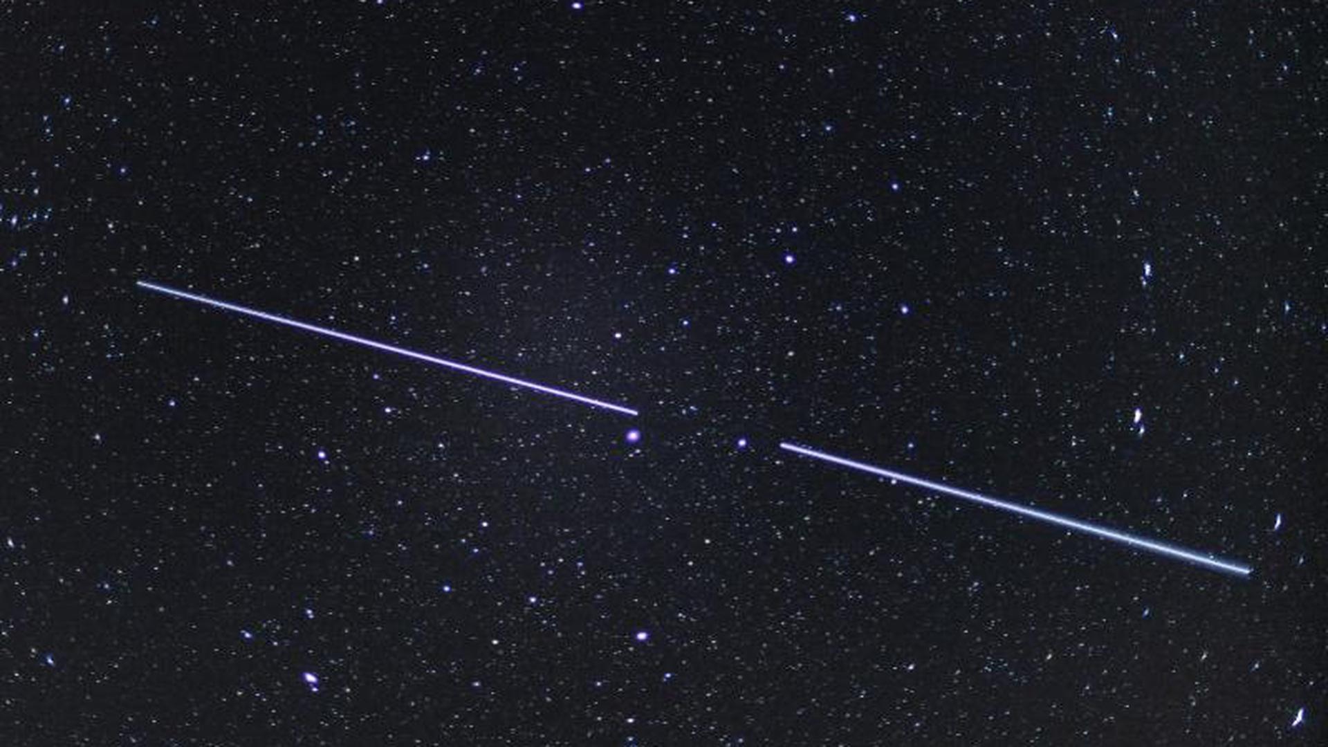 Musk Satelliten Kette