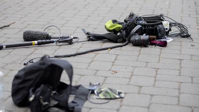 Übergriff auf Kamerateam