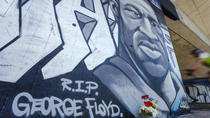 Gedenken an George Floyd
