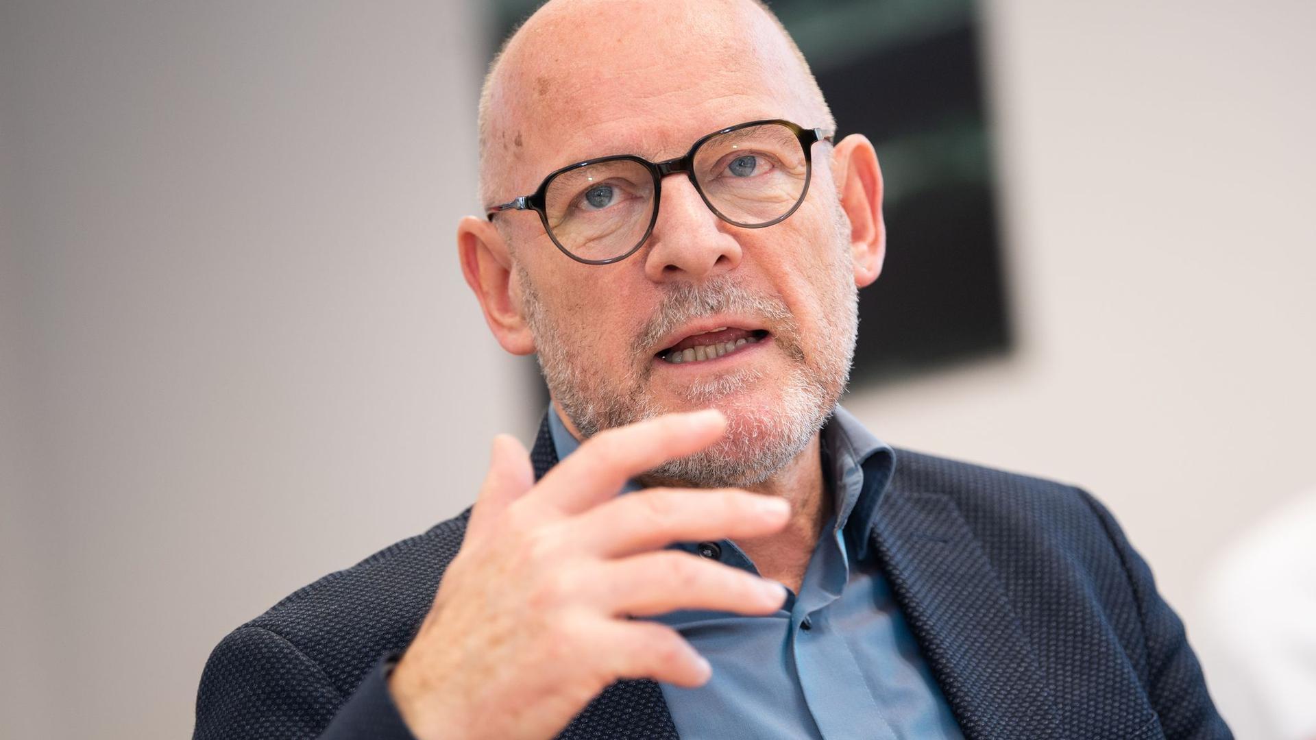Winfried Hermann (Bündnis 90/Die Grünen), Verkehrsminister von Baden-Württemberg.
