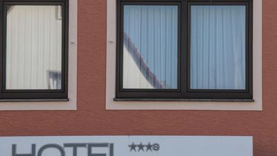 Ein Hotel.