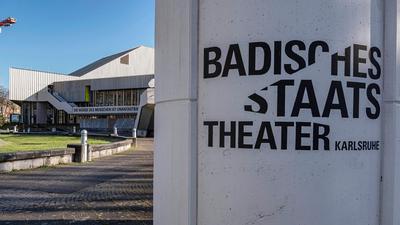 Das Badische Staatstheater in Karlsruhe.