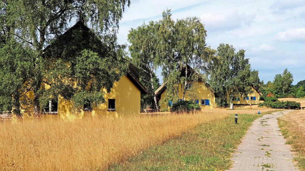 die Häuser der SED-Bonzen auf der Insel Vilm vor Rügen