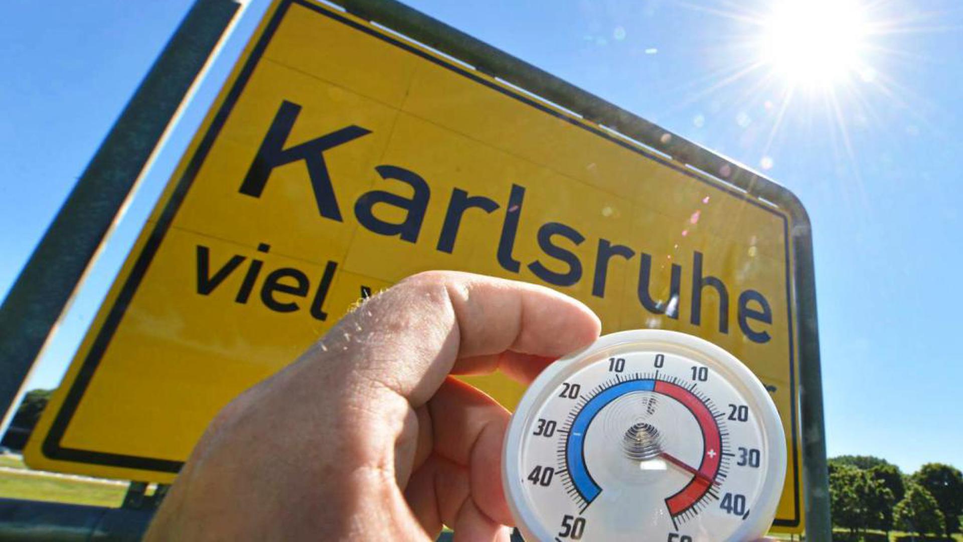 Wetterstation Karlsruhe