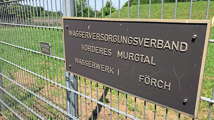 Das Wasserwerk Förch des Wasserversorgungsverbands Vorderes Murgtal. Hier musste wegen PFC ein neuer Tiefbrunnen gebohrt werden