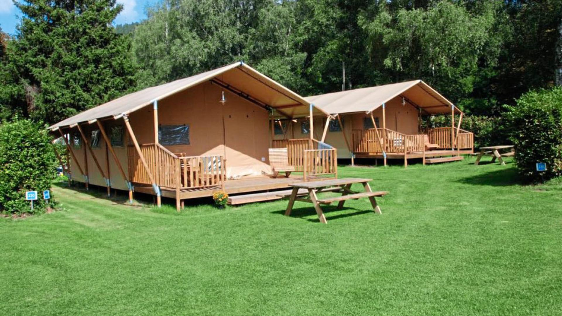 Glamping statt Camping in Bad Liebenzell.