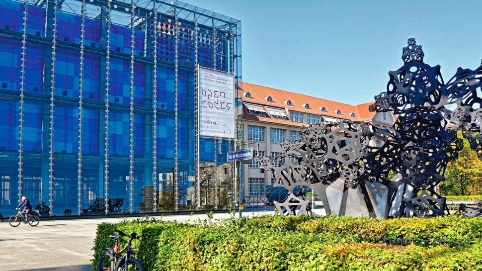 Seit über 30 Jahren befindet sich in der ehemaligen Munitionsfabrik das Zentrum für Medien.