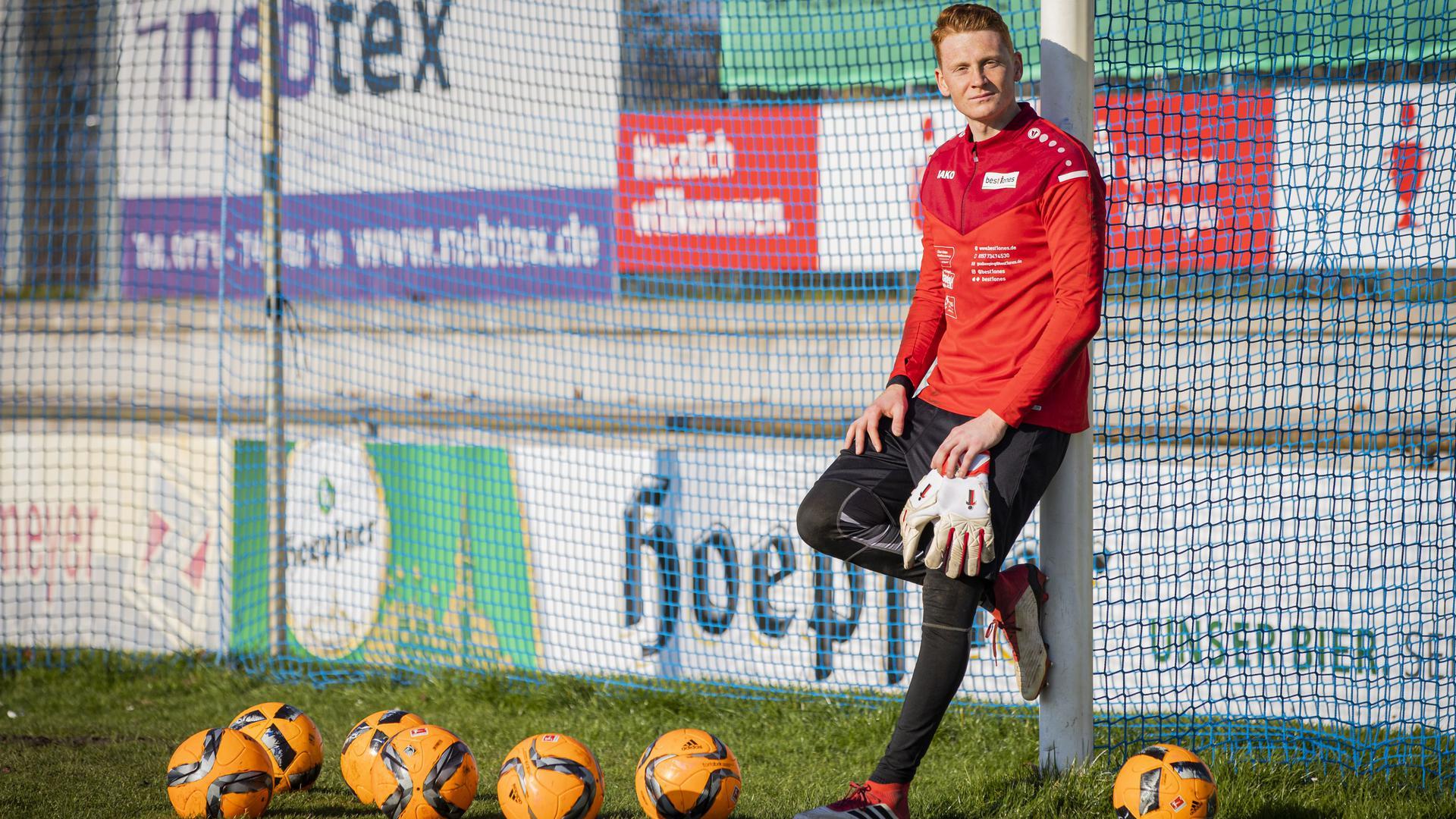 Yannick Merz, Torwart 1. FC Bruchsal
