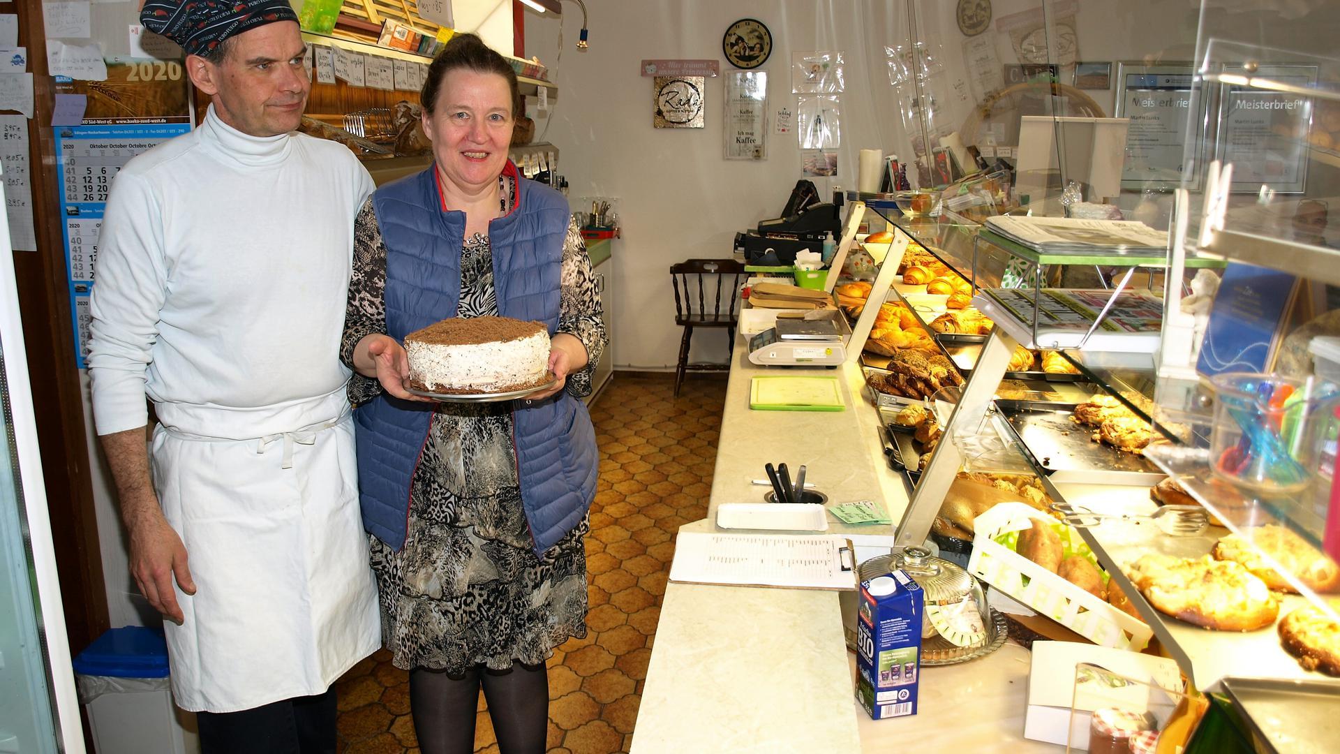 Inhaberin Rosemarie Niegl mit Betriebsleiter Martin Lunks