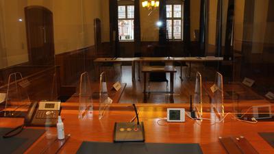 Amtsgericht Bruchsal, CO2-Messgerät