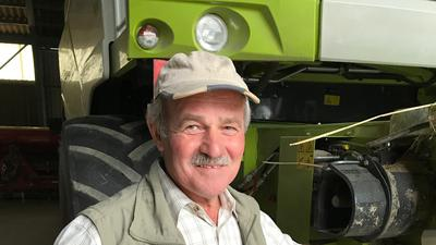 Werner Kunz ist Landwirt seit über 40 Jahren. Der 63-Jährige führt nicht nur den Damianushof in Ubstadt-Weiher. Er sitzt auch im Vorstand des Kreis- sowie des Landesbauernverbands.
