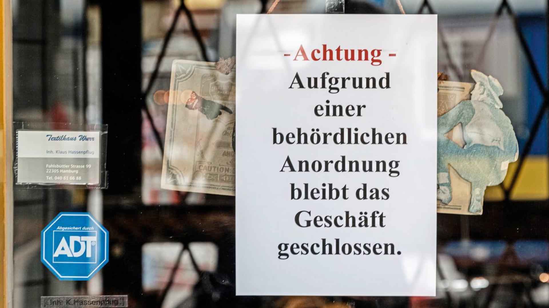 Seit Mittwoch müssen die meisten Läden in Baden-Württemberg zu bleiben.