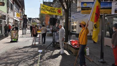 Bretten Fußgängertzone Volker Behrens