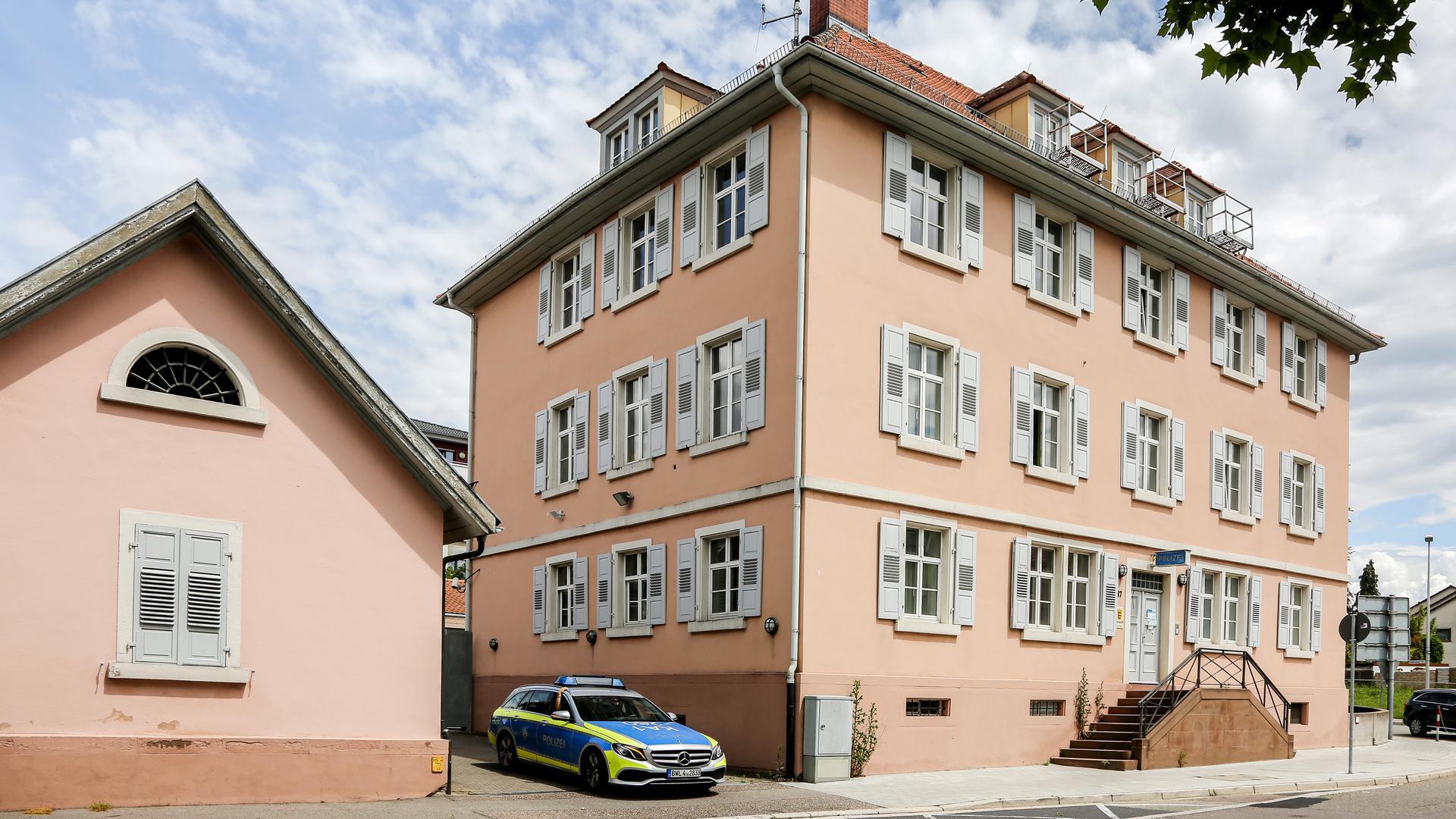 Das Brettener Polizeirevier in der Weißhoferstraße 47.