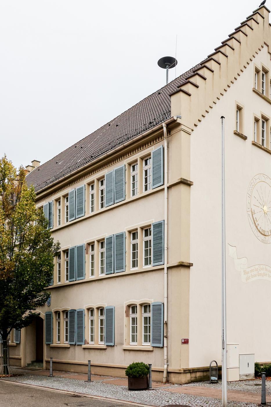 Das Rathaus in Gondelsheim 2.