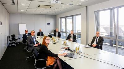 Das erste digitale Bilanzpressegespräch der Volksbank Bruchsal-Bretten.