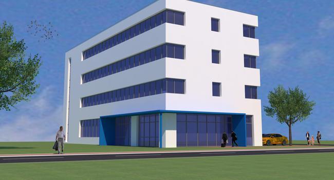 So oder so ähnlich soll das geplante Gründer- und Innovationszentrum in Bretten aussehen.