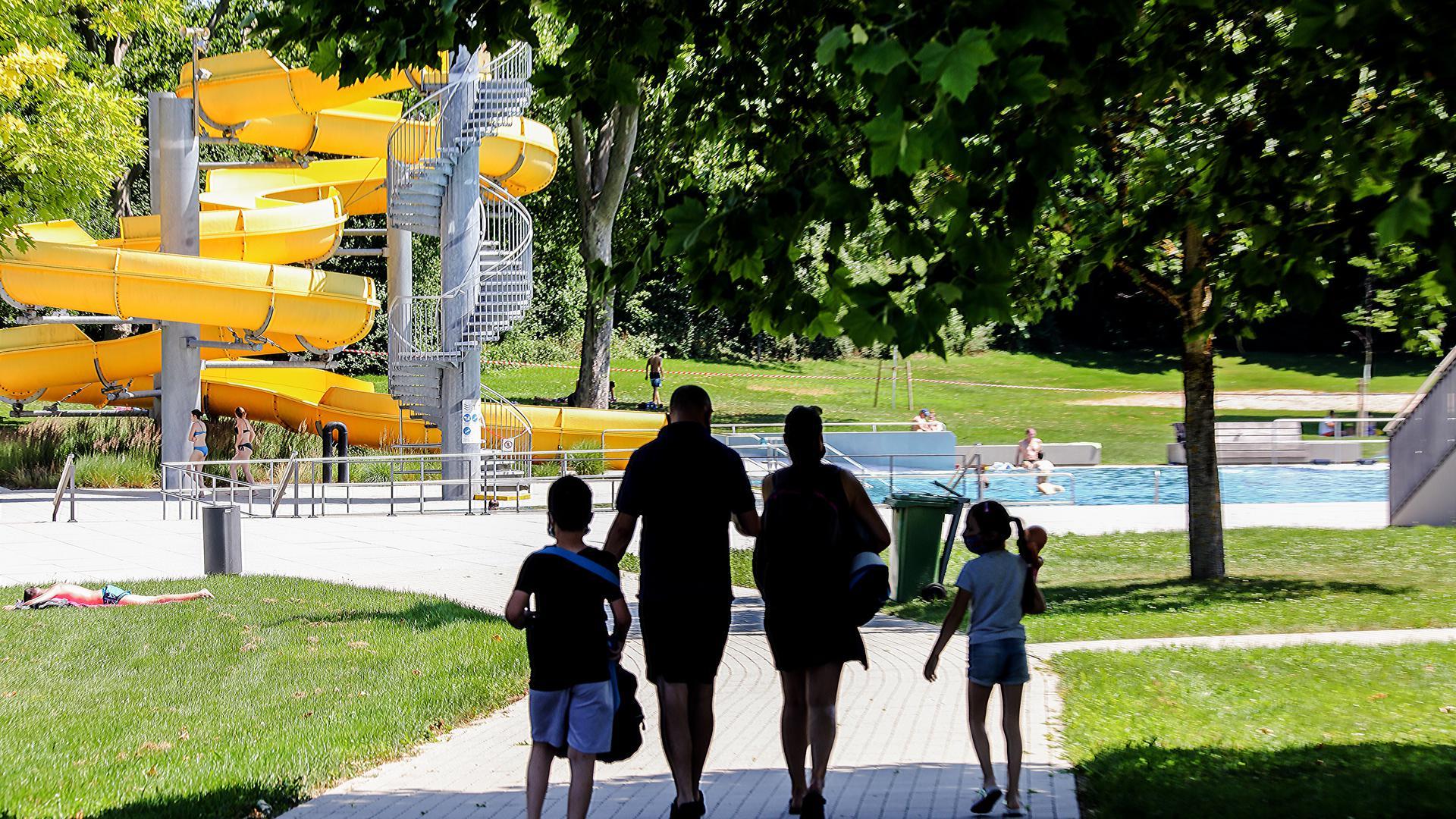 Die Badewelt Bretten öffnet am 3. Juni 2021 wieder für die Besucher.