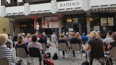 Die Events der Reihe KulturFreitag auf dem Brettener Rathausplatz waren stets gut besucht.
