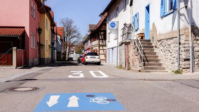 Die Friedrichstraße in Bretten ist nun offiziell eine Fahrradstraße.