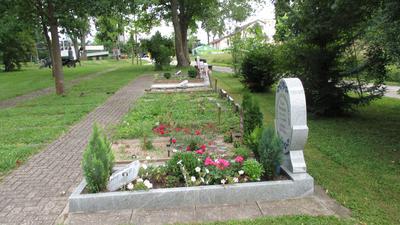 Die Gräber von Muslimen sind schlicht und Grabsteine sind eher die Ausnahme.