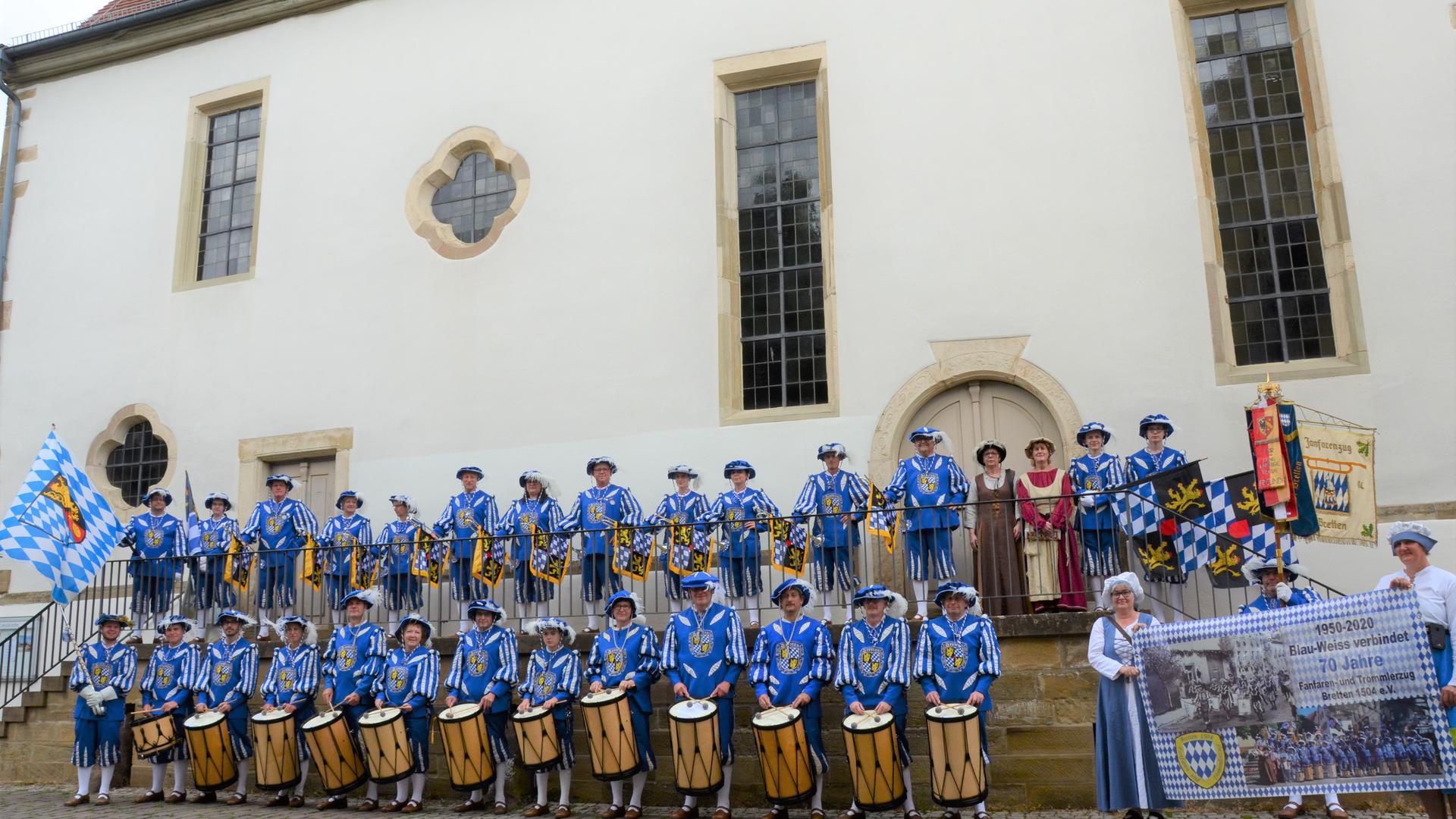 Im letzten Jahr feierte der Fanfarenzug sein 70-jähriges Vereinsjubiläum.