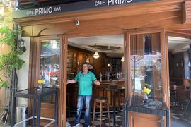 Giovanni Procopio bietet im Café Primo wieder Public Viewing an.