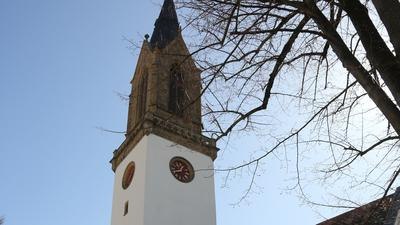 Kirchturm der Stiftskirche in Bretten