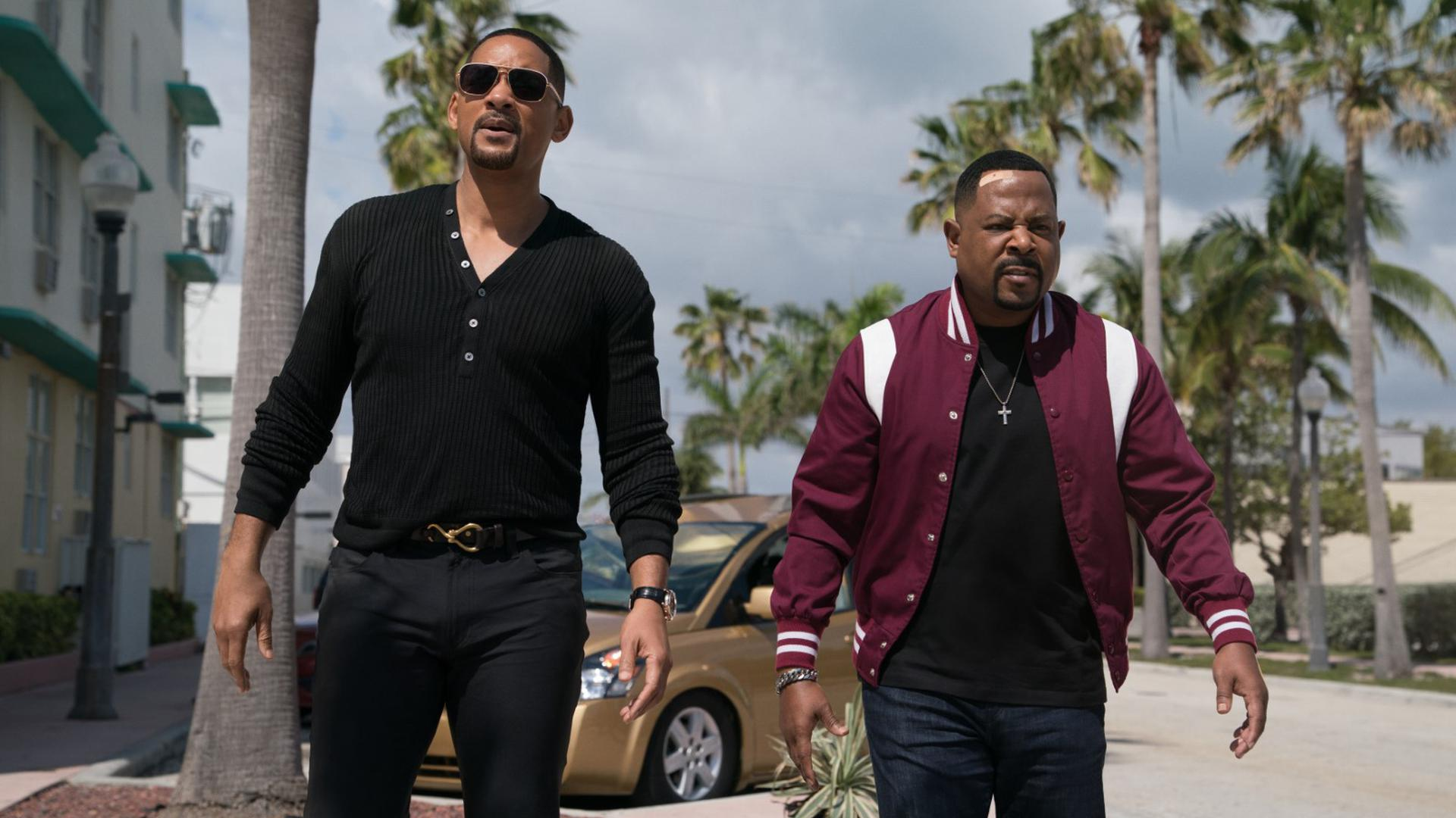 """Will Smith (links) und Marcus Burnett (rechts) in """"Bad Boys for Life""""."""