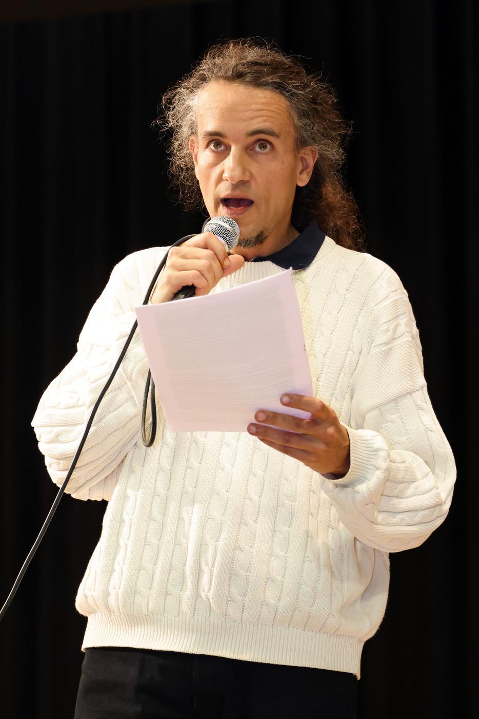 Florian Georg Maximilian Blume (45) Lebens- und Unterhaltungskünstler aus Knittlingen