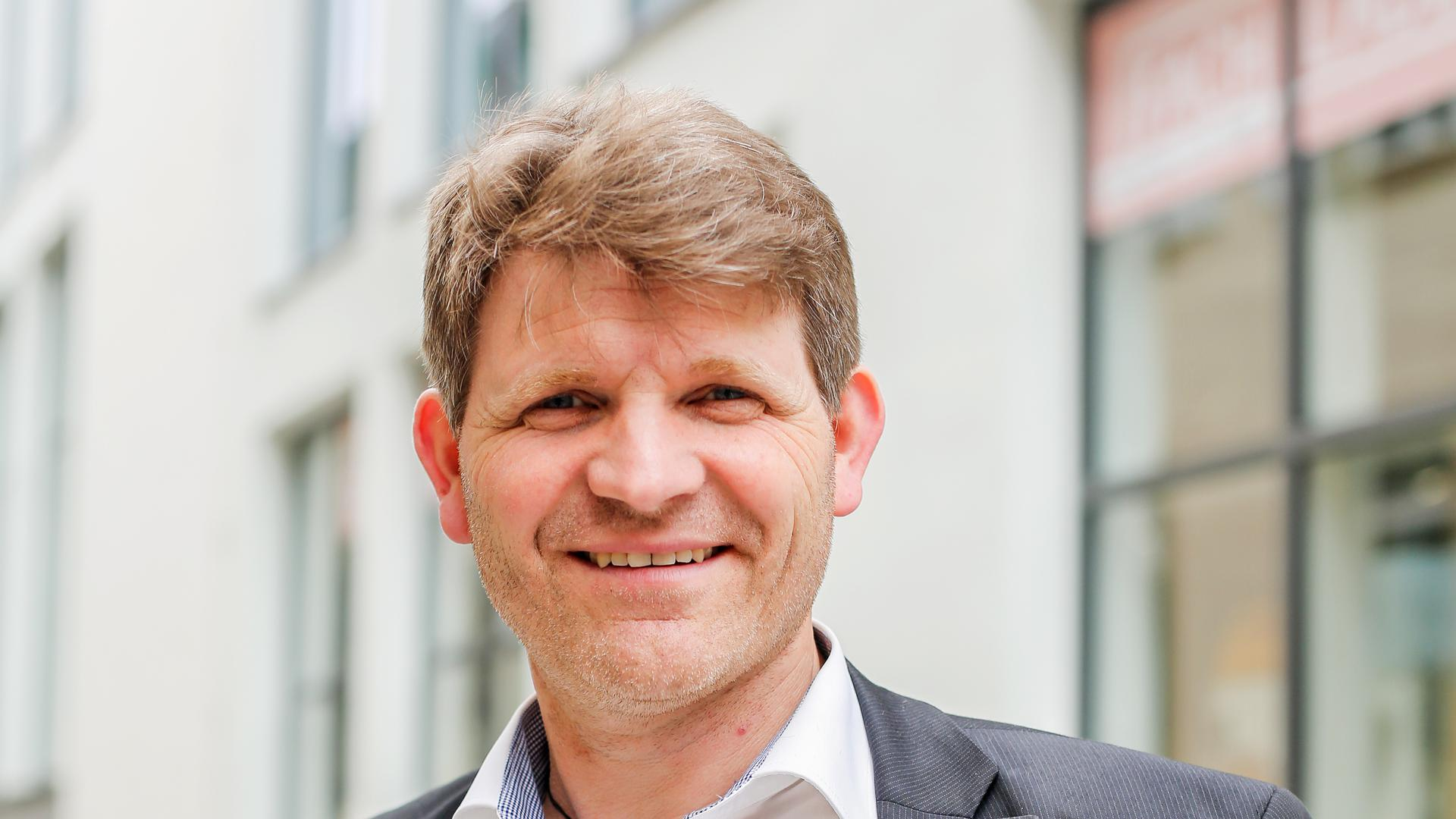 Brettens Bürgermeister Michael Nöltner.