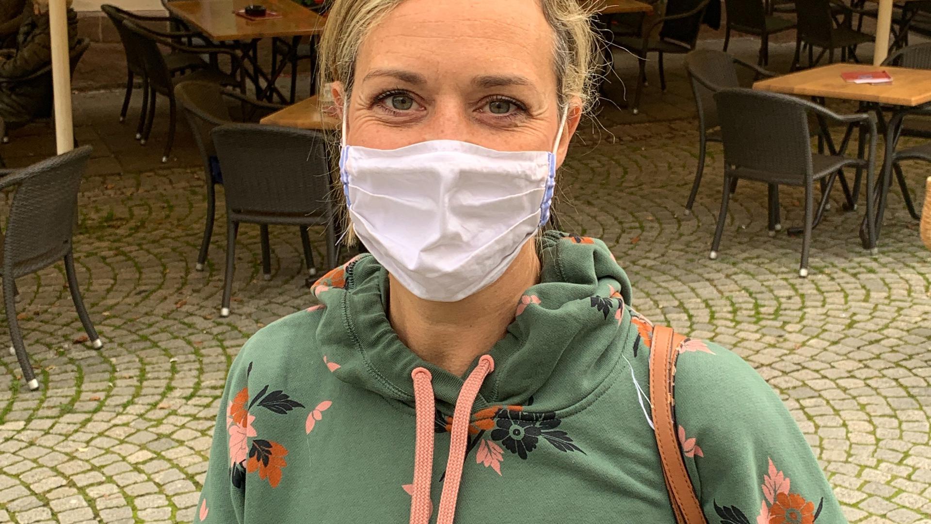 Sabine Weishäupl aus Bretten.