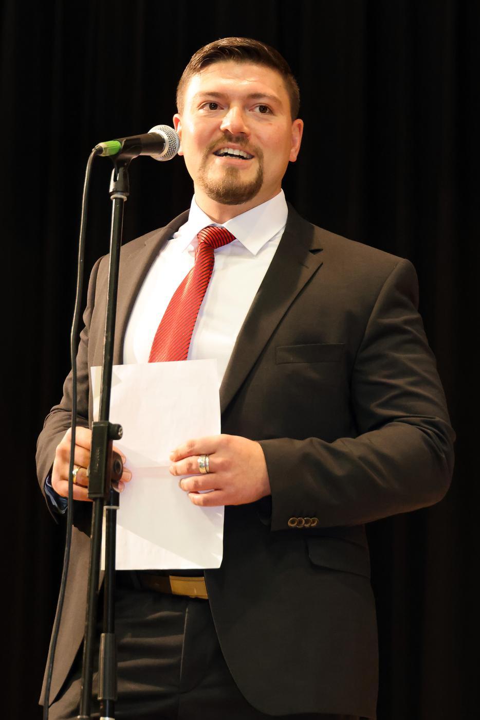Andreas Laitenberger (34), Immobilienvertreter aus Bretten