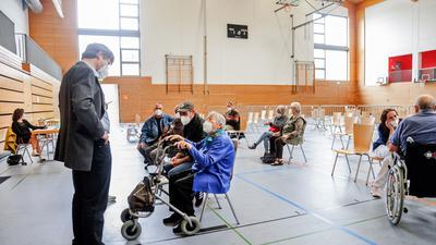 Zweite Impf-Aktion für Über-80-Jährige in Bretten.