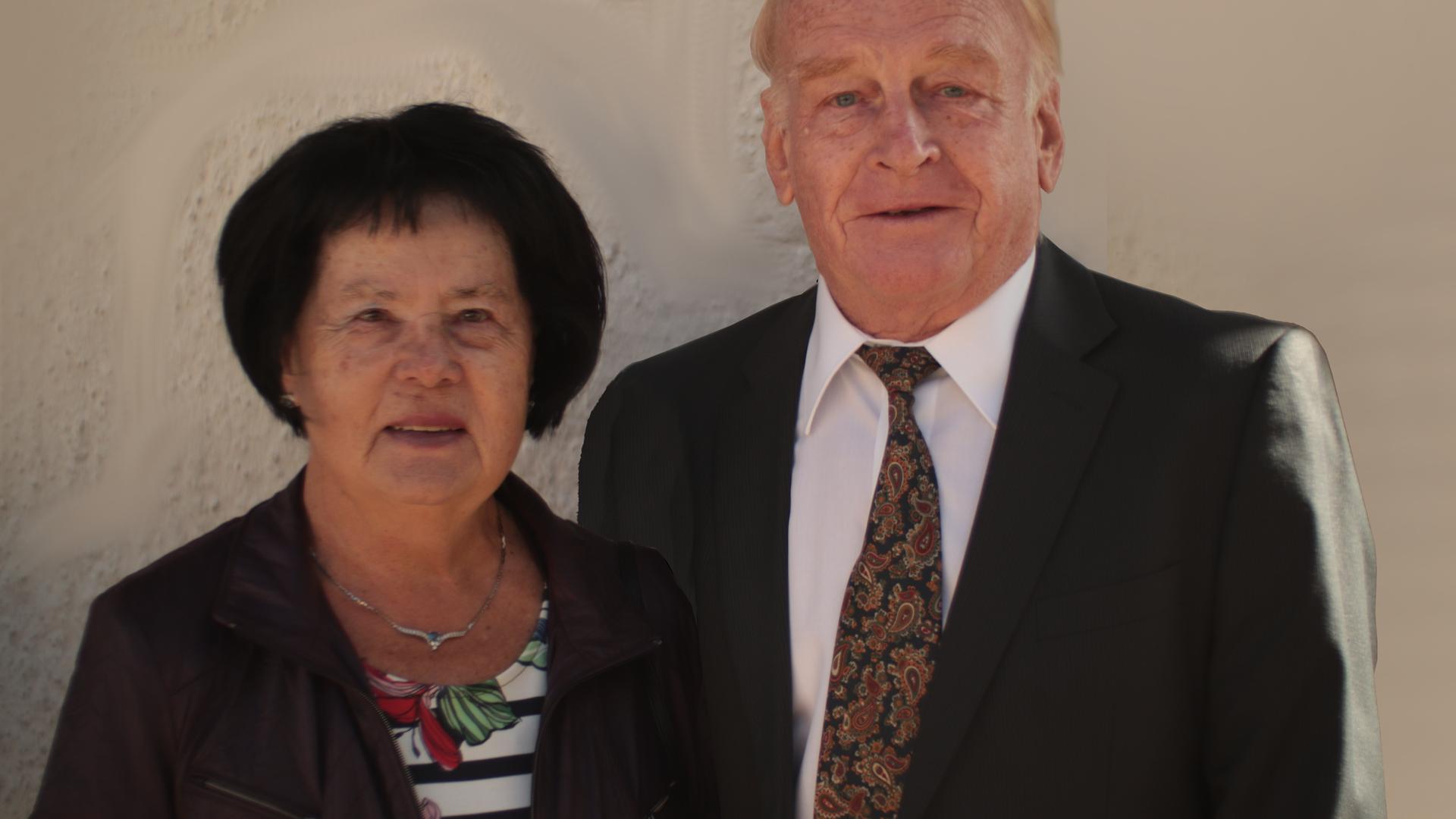 Vorsätze für das neue Jahr in Bretten - Helga und Kurt Leonhardt