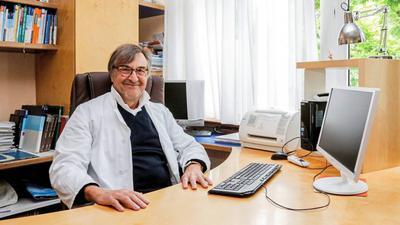 Gerhard Lothar Heinz, Neurologe und Psychiater aus Bretten.