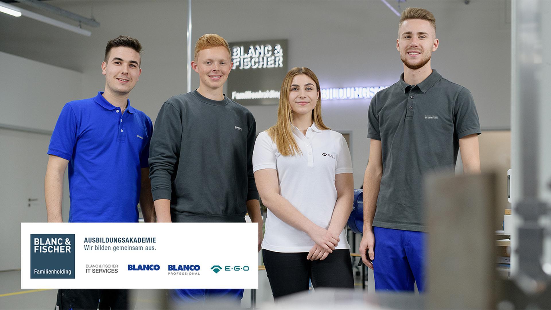Mehr Chancen für junge Talente: Startklar mit der Blanc & Fischer Ausbildungsakademie!