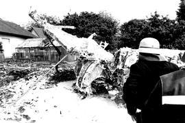 Absturz einer Mirage in Oberderdingen 1984