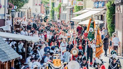 Wegen der Corona-Pandemie fällt das Brettener Peter-und-Paul-Fest in diesem Jahr aus. Es ist die erste Absage des Mittelalter-Spektakels, das 2020 zum 70. Mal hätte stattfinden sollen.