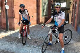Wieder dabei: Gernot Hörner (links) und Klaus Krätschmer vom rsc, dem Radsportclub Bretten, gehörten mit dem Verein zum Siegerteam 2019 und starten nun erneut.