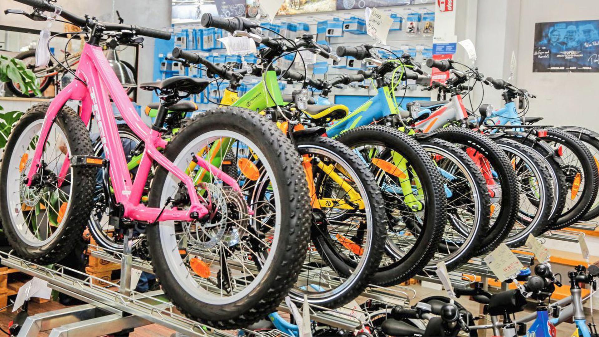 Alle Sparten gefragt: Von Kinderrädern bis E-Bikes für Senioren geht die Nachfrage der Kunden.